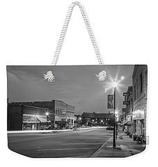 Black And White 31 Weekender Tote Bag