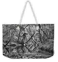 Black And White 40 Weekender Tote Bag