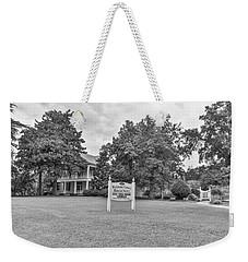 Black And White 58 Weekender Tote Bag