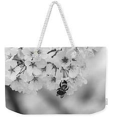 Black And White 7 Weekender Tote Bag