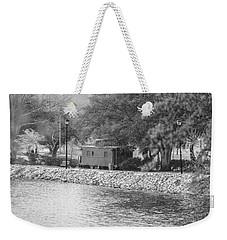 Black And White 8 Weekender Tote Bag
