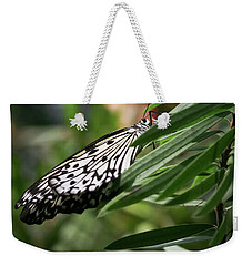 Black And White Butterfly -  Weekender Tote Bag