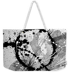 Black And White Five Weekender Tote Bag
