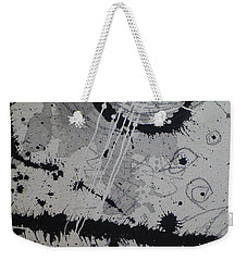 Black And White Four Weekender Tote Bag