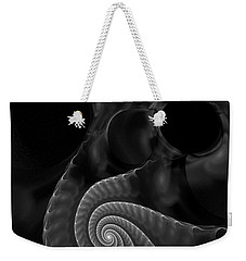Black And White Fractal 080810 Weekender Tote Bag