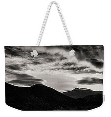 Weekender Tote Bag featuring the photograph Black And White Sunrise by Joseph Hollingsworth