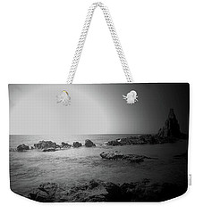 Black And White Sunset In Spain Weekender Tote Bag