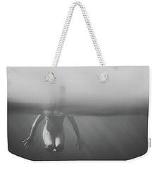 Black And White Underwater Weekender Tote Bag