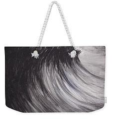 Black And White Wave Guam Weekender Tote Bag
