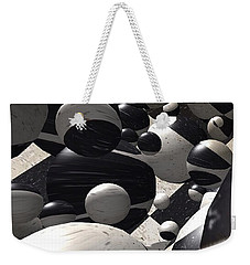 Black And White World  Weekender Tote Bag