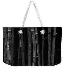 Black Bamboo Weekender Tote Bag