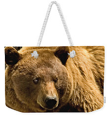 Black Bear Weekender Tote Bag