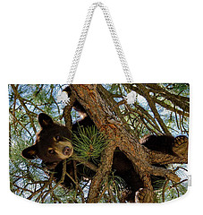 Black Bear Weekender Tote Bag by Ron White