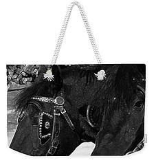 Black Beauties Weekender Tote Bag by Stuart Turnbull