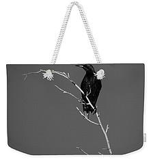 Black Bird On A Branch Weekender Tote Bag