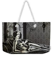 Black Blanche Weekender Tote Bag