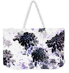 Black Blooms I Weekender Tote Bag