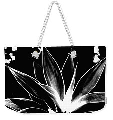 Weekender Tote Bag featuring the photograph Black Cactus  by Rebecca Harman