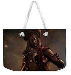 Black Caesar Pirate Weekender Tote Bag