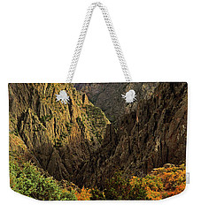 Weekender Tote Bag featuring the photograph Black Canyon Of The Gunnison - Colorful Colorado - Landscape by Jason Politte