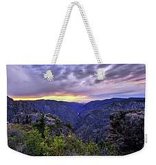 Black Canyon Sunset Weekender Tote Bag
