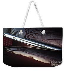 Black Cherry Abstract Weekender Tote Bag