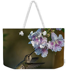 Black-chinned Hummingbird Weekender Tote Bag