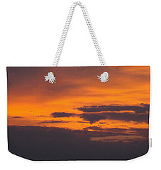 Black Cloud Sunset  Weekender Tote Bag