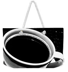 Black Coffee Weekender Tote Bag