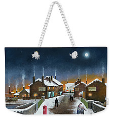 Black Country Winter Weekender Tote Bag