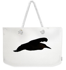 Black-crowned Night Heron Silhouette Weekender Tote Bag