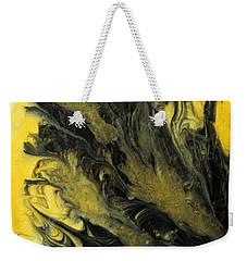 Black Dahlia Weekender Tote Bag