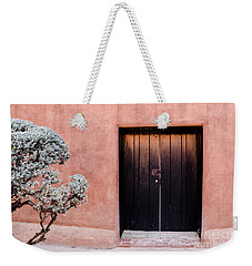 Black Door Weekender Tote Bag