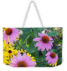 Black Eye Susans And Echinacea Weekender Tote Bag
