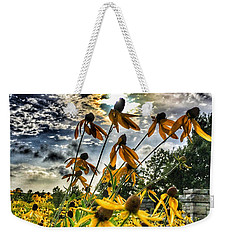 Weekender Tote Bag featuring the photograph Black Eyed Susan by Sumoflam Photography
