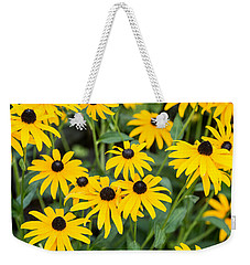 Black-eyed Susan Up Close Weekender Tote Bag