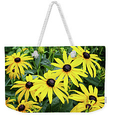 Black Eyed Susans- Fine Art Photograph By Linda Woods Weekender Tote Bag