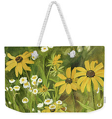 Black-eyed Susans In A Field Weekender Tote Bag