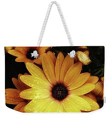 Weekender Tote Bag featuring the photograph Black Eyed Susans. Looks Like They're by Mr Photojimsf