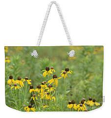 Black-eyed Susans Weekender Tote Bag by Maria Urso