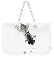 Black Fish Weekender Tote Bag