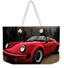 Black Forest - Red Speedster Weekender Tote Bag