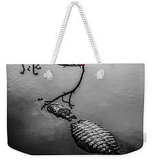 Black Gator Weekender Tote Bag