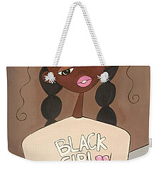 Black Girl Magic Weekender Tote Bag
