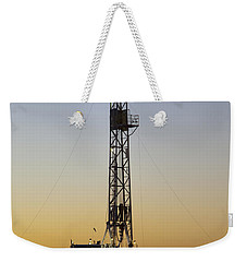 Black Gold Weekender Tote Bag