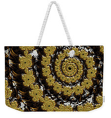Black Gold Weekender Tote Bag
