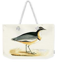 Black Headed Plover Weekender Tote Bag