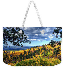 Black Hills Autumn Weekender Tote Bag