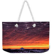 Black Hills Sunrise Weekender Tote Bag by Fiskr Larsen