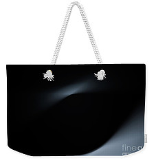 Weekender Tote Bag featuring the photograph Black Hole Inner Space by Rachel Cohen